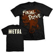 "Image of Final Drive - ""Metal"" Tee"