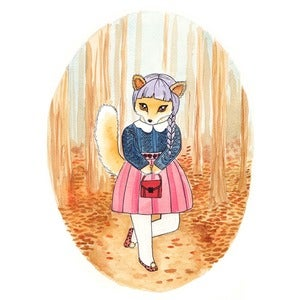 Image of Sasha Fox Print