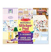 Image of Jumbo Dolls House Stickers