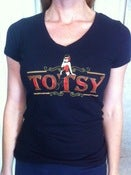 Image of Gal's Black Totsy Tee