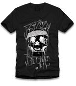 Image of Bizzy Bone Skull Tee Black