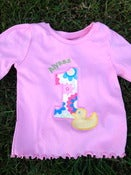 Image of Personalized Birthday Shirts and Onesies
