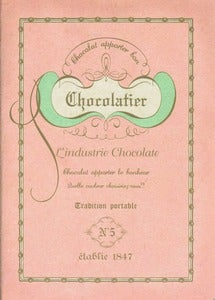 Image of Pale Pink Chocolatier Notebook