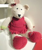 Image of Lilly Ladybird Bear Knitting Pattern