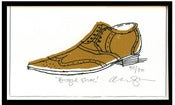 Image of Small brogue (Unframed)