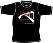 Image of Make A Bridge (and Get over it) T-shirt