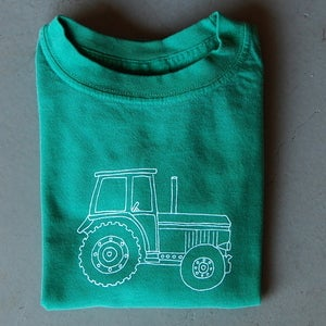 Image of Big Green Tractor Long-Sleeved Children's Tee