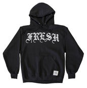 Image of OLDE FRESH BLACK HOODIE
