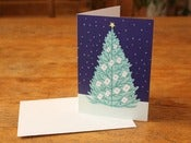 Image of Christmas tree card