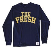 Image of TEAM PLAYER NAVY LONG SLEEVE