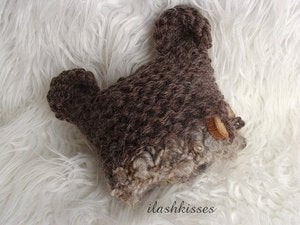 Image of Baby Bear Hat Pattern - PDF