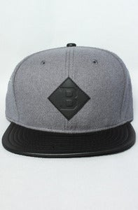 Image of The Benson B Strap back Black