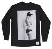 Image of ALYSHA NETT BLACK LONG SLEEVE TEE