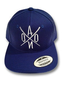 Image of Royal AONO Embroidered Snapback