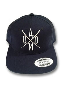 Image of Navy AONO Emboidered Snapback