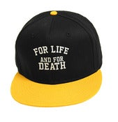 Image of FOR LIFE BLACK SNAPBACK
