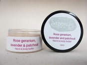 Image of Rose Geranium, Mandarin and Patchouli Hand and Body Butter