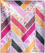Image of Broken Herringbone Quilt pdf quilt pattern