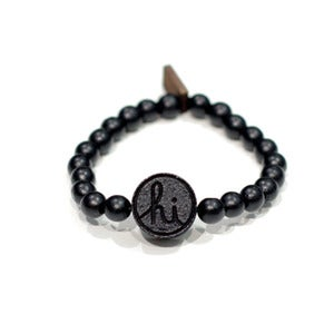 Image of IN4M - IN4M X GOODWOOD NYC HI BRACELET BLK