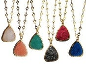 Image of Resin Druzy Necklace *As seen on Good Morning America