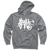 Image of Grey SLOTH Tag  pullover hoodie