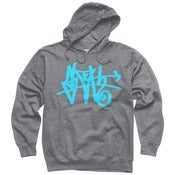 Image of Teal SLOTH Tag pullover hoodie