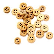 Image of {It's Quite Natural} – Wooden Buttons