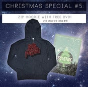 Image of Charcoal Heather Zip Hoodie + Free DVD