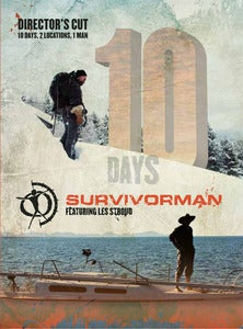 Image of Season 4 Survivorman 10 Days DVD Set - Director's Cut