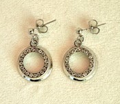 Image of Silver Night Out Earrings