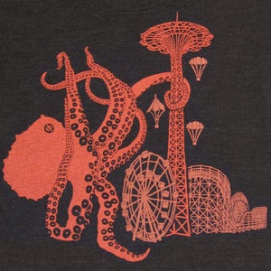 Image of Coney Island Octopus T-shirt