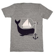 Image of Ship & Whale V-neck