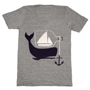 Image of Ship &amp; Whale V-neck