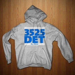 "Image of DETROIT LIONS EDITION ""3525 DET"" HOODIE FOR MEN AND WOMEN"