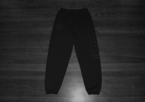 Image of MMVIII Sweatpants (Black/Black)