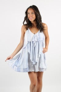Image of FLOAT ON RUFFLED DRESS 