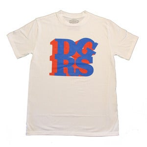 Image of DGRS/LOVE T-Shirt (Blue & Red)