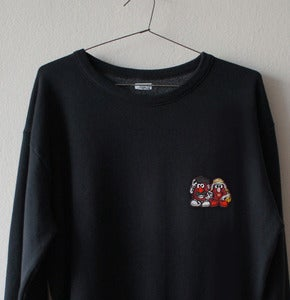 Image of MR POTATO'S PATCH BLACK SWEATSHIRT