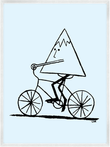 Image of Mountain Biking Print