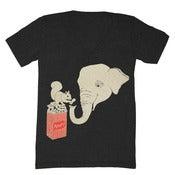 Image of Elephant and Squirrel V-neck
