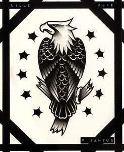 sailor jerry boxing eagle tattoo  Sailor Jerry Eagle Quali...