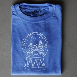 Image of Snow Globe Long Sleeved Children's Tee