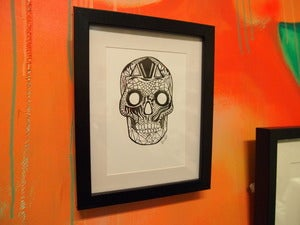 Image of Framed Skull