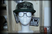 Image of LA RATCHETS SNAPBACK (camo/black) 