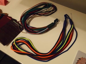 Image of Rope / String / Leather necklaces