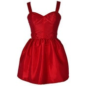 Image of Bombshell Red Party Dress