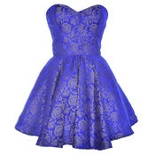 Image of Blue Midas Party Dress