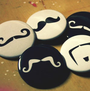 Image of Mustache Pins!