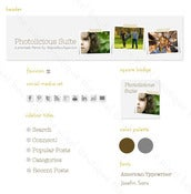 Image of photolicious blog graphic suite