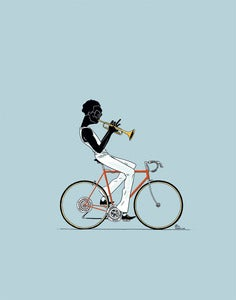 Image of PRINT :: Miles By Bicycle